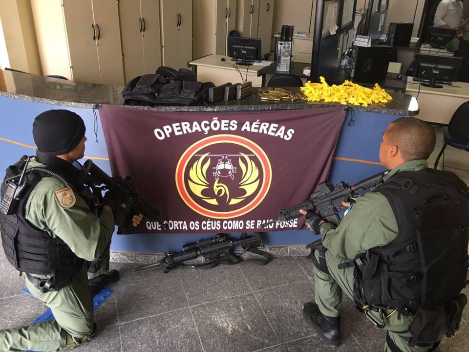 GAM da PM do Rio de Janeiro realiza prisão e impede roubo de carga no Arco Metropolitano