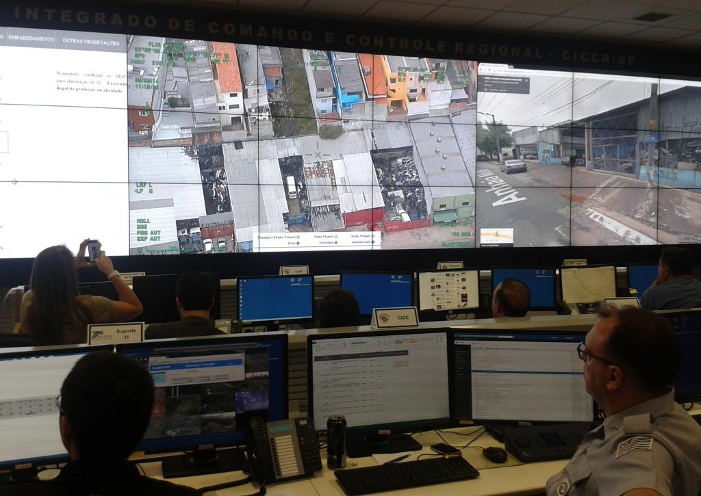 Centro Integrado de Comando e Controle de São Paulo: Emprego Operacional da Polícia Militar