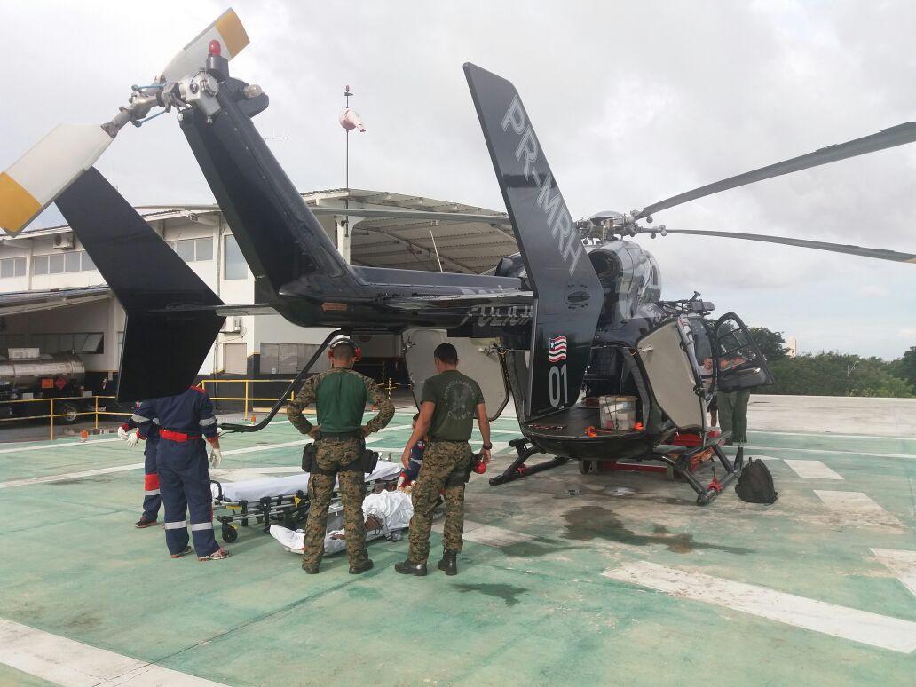 EC145 do CTA do Maranhão faz transporte aeromédico de paciente com tumor cerebral