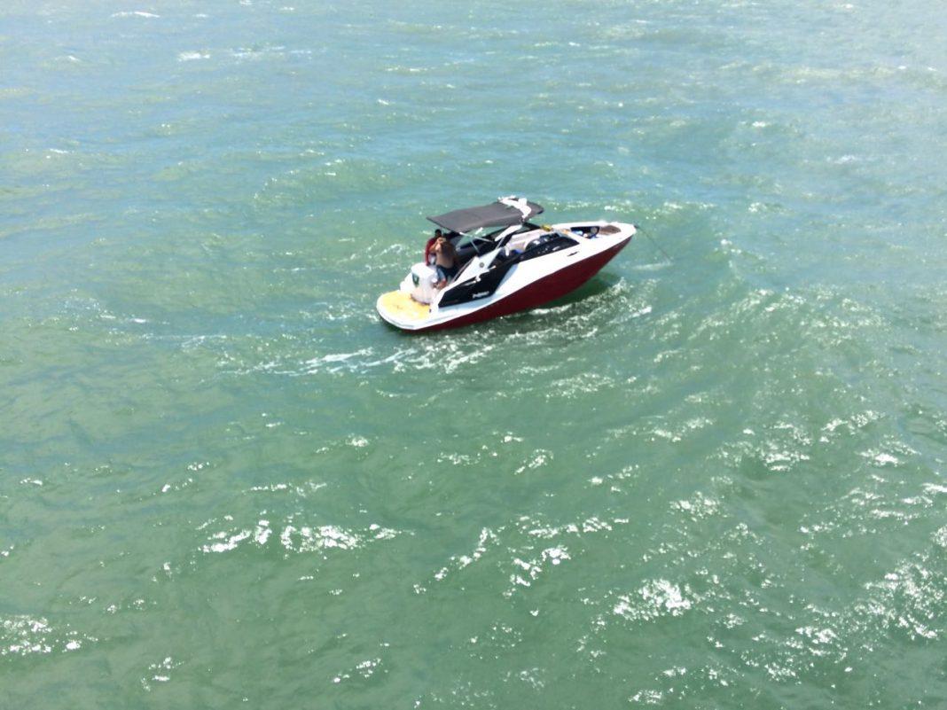Águia 03 do CTA do Maranhão resgata tripulação de embarcação a deriva
