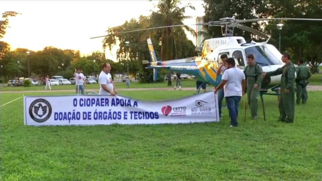 CIOPAer de Tocantins participa de evento para estimular a doação de órgãos e tecidos