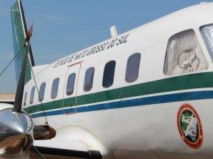 Aviões transportam governador e secretários em viagens oficiais. (Foto: Marcos Ermínio).