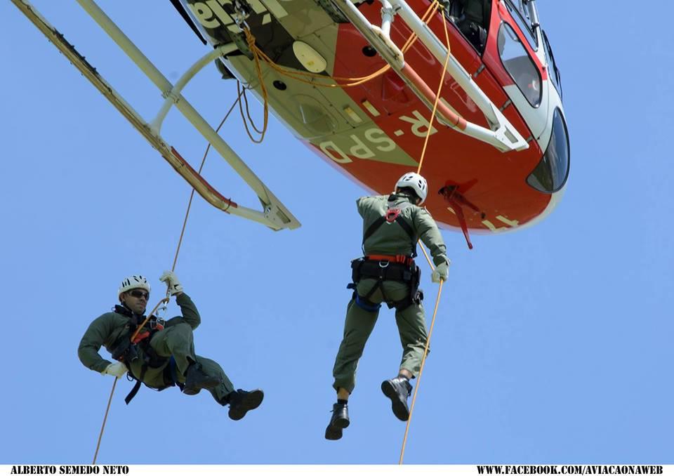 sjrpaguia1Policiais Militares da Base de Rio Preto realizam treinamento de resgate e salvamento
