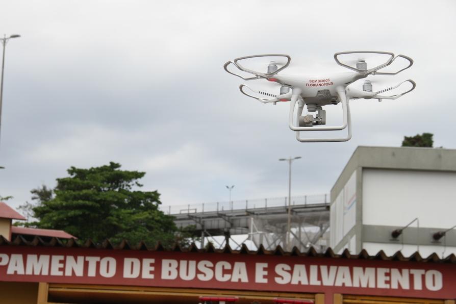 CBMSC investe em inovação tecnológica para operações com drone