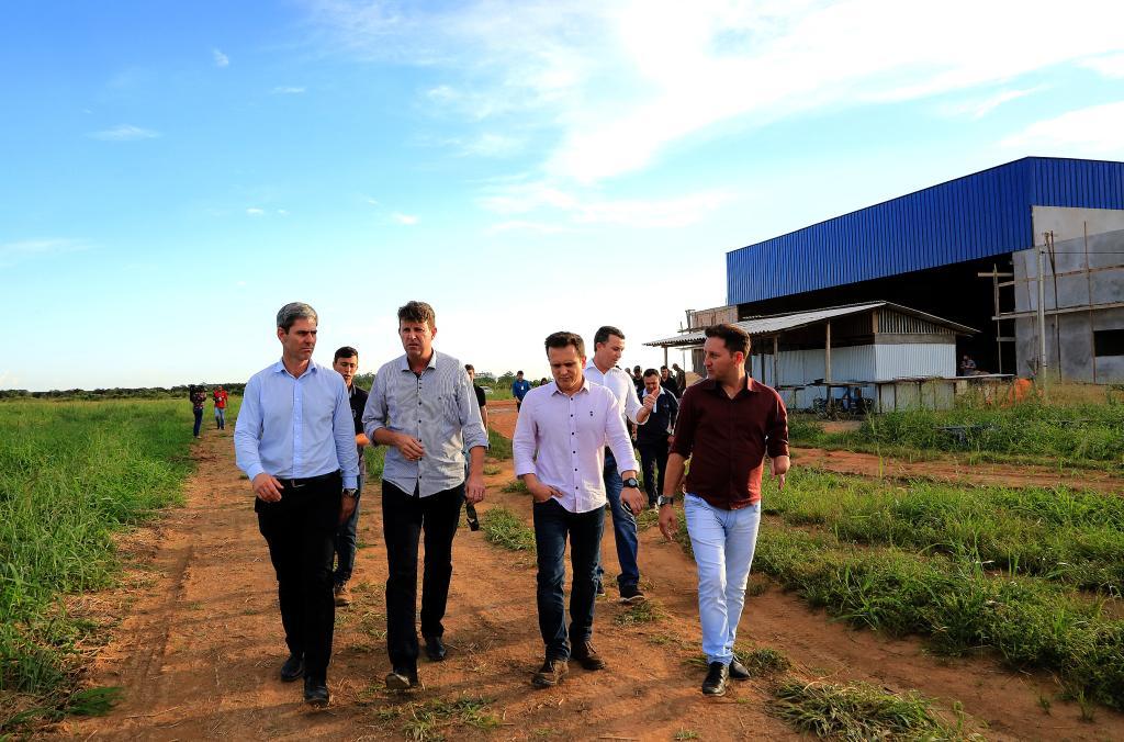 Obras do hangar do Ciopaer está 50% concluída e deve ser entregue este ano - Foto por: Lenine Martins/Sesp-MT