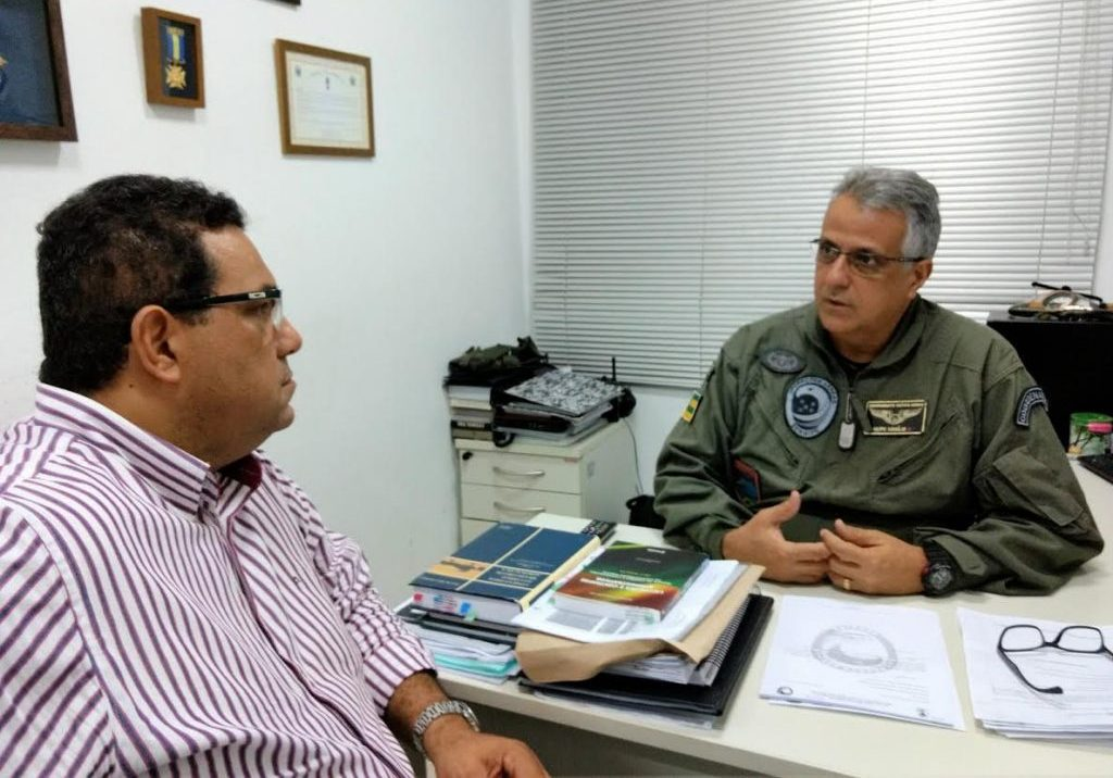 Samu ampliará parceria com Grupamento Tático Aéreo