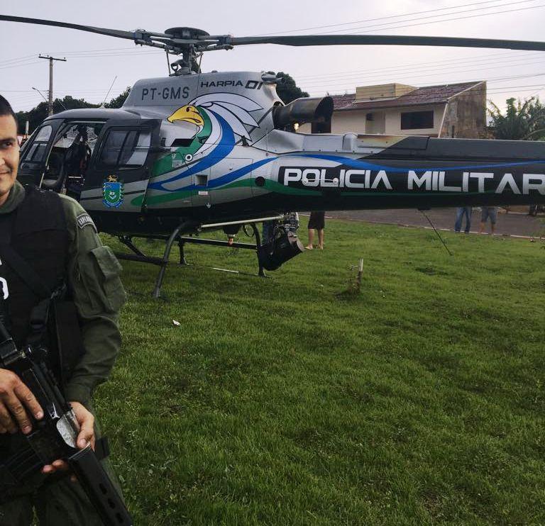 Harpia 01 inicia suas atividades e participa da Operação Tiradentes em Campo Grande