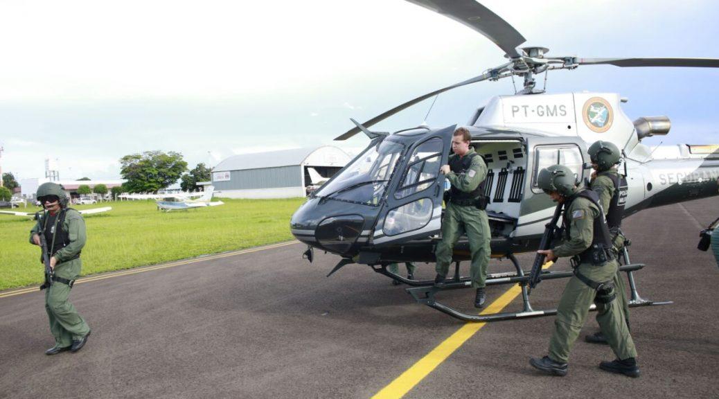 Decreto altera algumas regras do policiamento aéreo em Mato Grosso do Sul