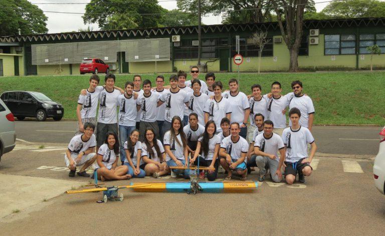Turma da Unicamp é uma das representantes do Brasil na competição SAE Aero Design East / Divulgação