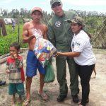 CTA do Maranhão participa de ação solidária com entrega de donativos a famílias carentes em Mirinzal