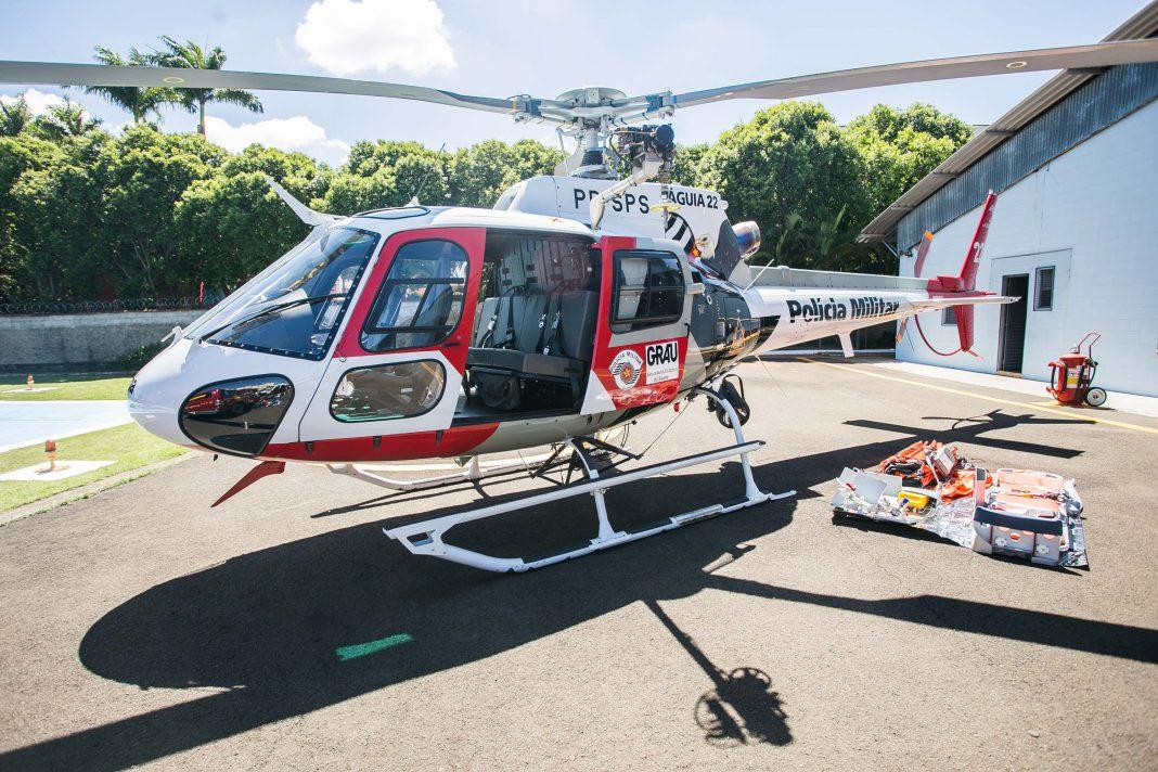 O governador Geraldo Alckmin durante entrega de aeronave ao Grupo de Resgate e Atenção as Urgências e Emergências (GRAU), grupo especializado no resgate médico estadual Data: 25/03/2015. Local: Campinas/SP.  Foto: Edson Lopes Jr/A2AD