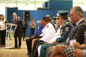 Helicóptero reforça o policiamento ostensivo e preventivo em Campo Grande