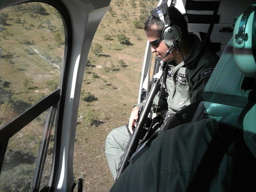 CIOPAER apoia Corpo de Bombeiros em buscas à pessoa desaparecida em Divinópolis