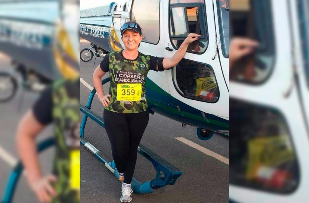Advogada de 61 anos se prepara para corrida promovida pelo Ciopaer