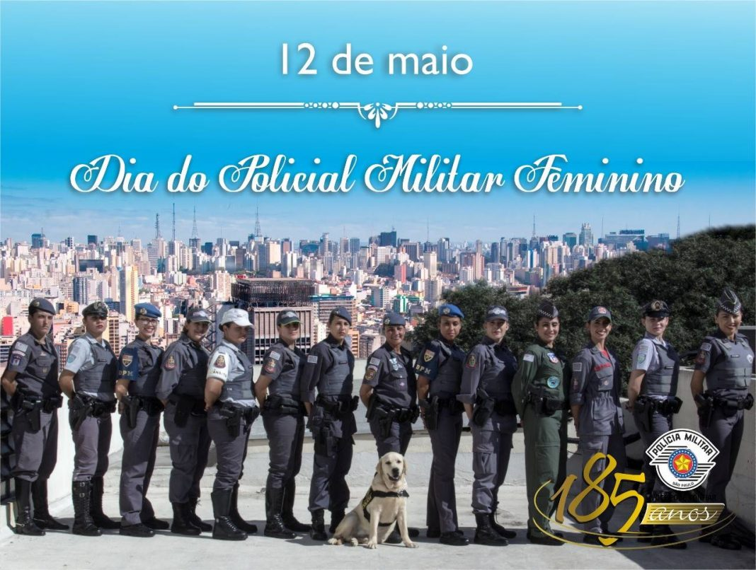 Mulheres que trabalham em todas áreas da Polícia Militar, salvando e protegendo a sociedade.