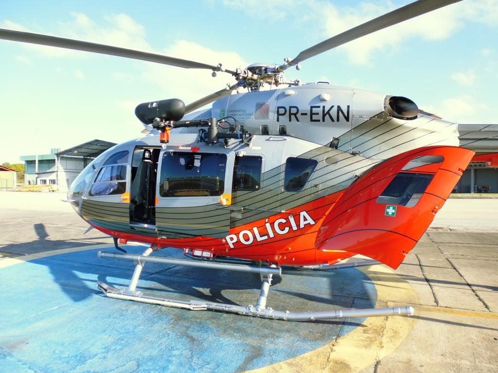 EC145 da CIOPAer do Ceará. Foto: Eduardo Alexandre Beni.