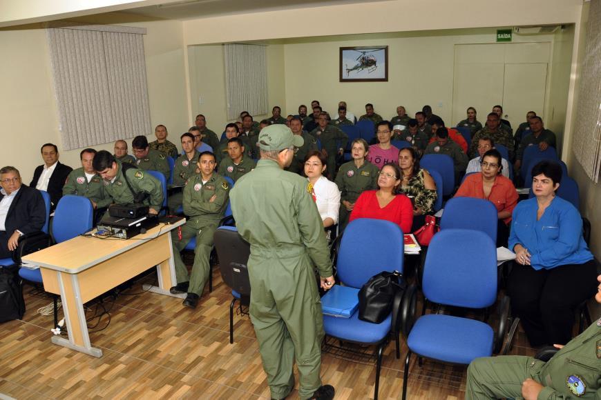 Debates trataram de fatores fisiológicos relacionados ao voo, limpeza e desinfecção de aeronaves e situações de defesa civil.