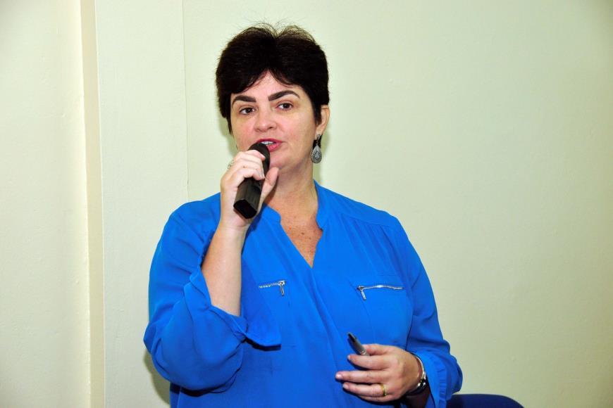 Secretária adjunta de Estado de Saúde, Heloisa Guimarães.