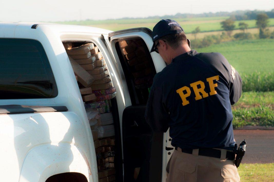 Drogas apreendidas durante Operação Cáucaso (Foto: PRF/Divulgação)