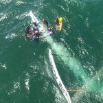GRAer resgata 12 vítimas de naufrágio na praia da Barra, em Salvador
