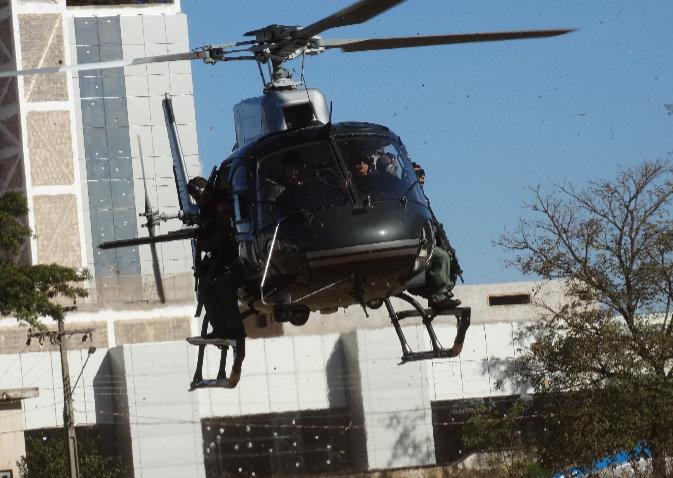Desde o dia 20 de abril helicóptero PT-GMS sobrevoa Capital - CGPA