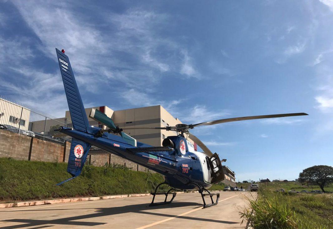 Em cinco meses de atividades, o serviço aeromédico implantado pelo Governo do Estado na região Noroeste do Paraná já fez 181 atendimentos, entre resgate de pessoas e transporte de pacientes em estado grave. Curitiba, 09/05/2017. Foto: Divulgação