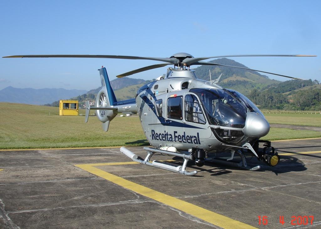 RFB pronta para voo de recebimento