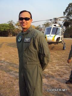 Tenente Coronel PM Juliano Chiroli assume a coordenação da CIOPAer.