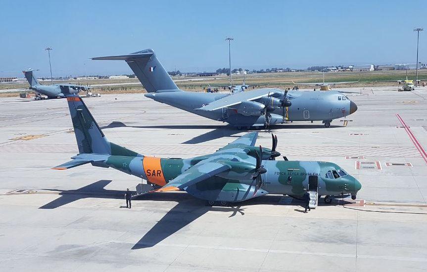 FAB recebe novo avião para busca e salvamento