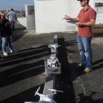 Equipe do CICCR do Paraná realiza treinamento sobre uso de drones. Foto: Divulgação/SESP.
