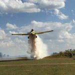 Corpo de Bombeiros realiza treinamento para emprego de aeronaves em combate a incêndios florestais. Foto: 13º GB.