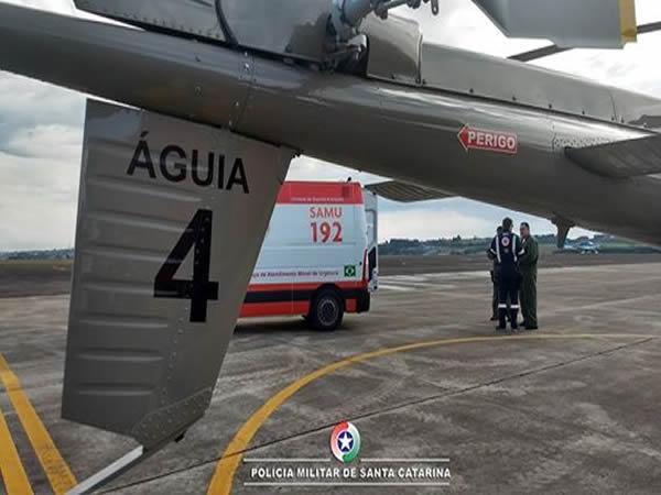Águia 04 e SAMU: parceria que salva vidas
