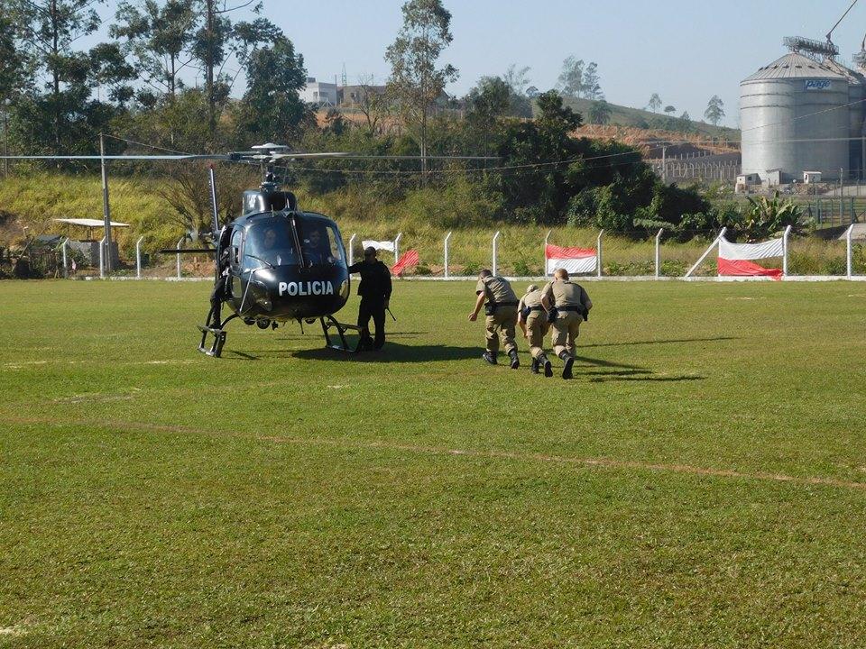 Estágio de Radiopatrulhamento GEBN. Foto: Divulgação PMSC.