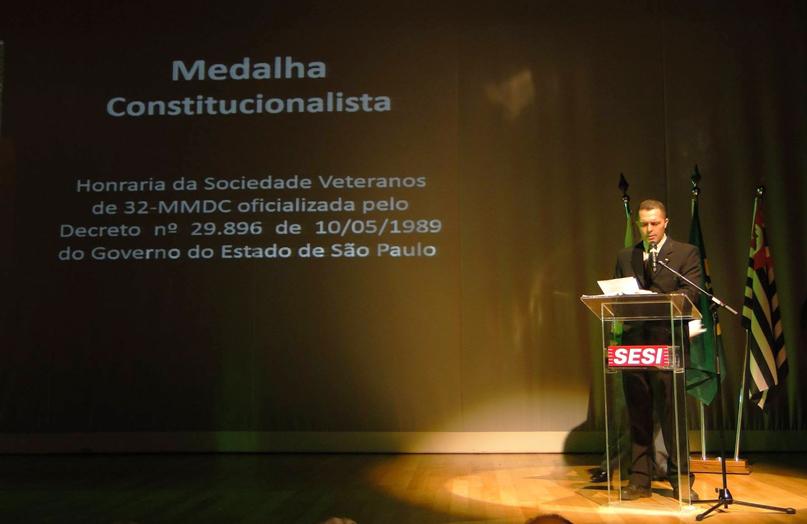 Prof. Dr. Jefferson Biajone, Presidente do Núcleo de Itapetininga. Foto: Antonio Carlos Soares.