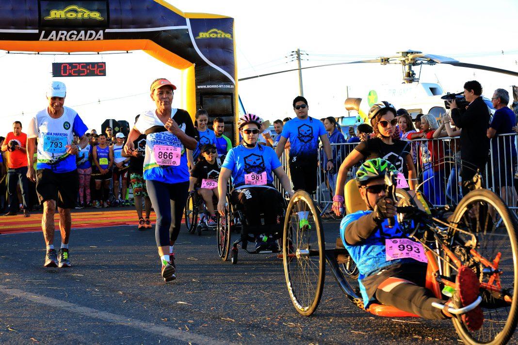 """2ª Meia Maratona """"Voando Baixo"""", do Ciopaer - Foto por: Lenine Martins/Sesp-MT"""