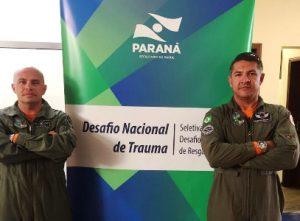2.º SGT PM Edvaldo José Santana Flexa do CIOPAer e Dr. Eduardo Henrique da UNIFOR/CIOPAer.