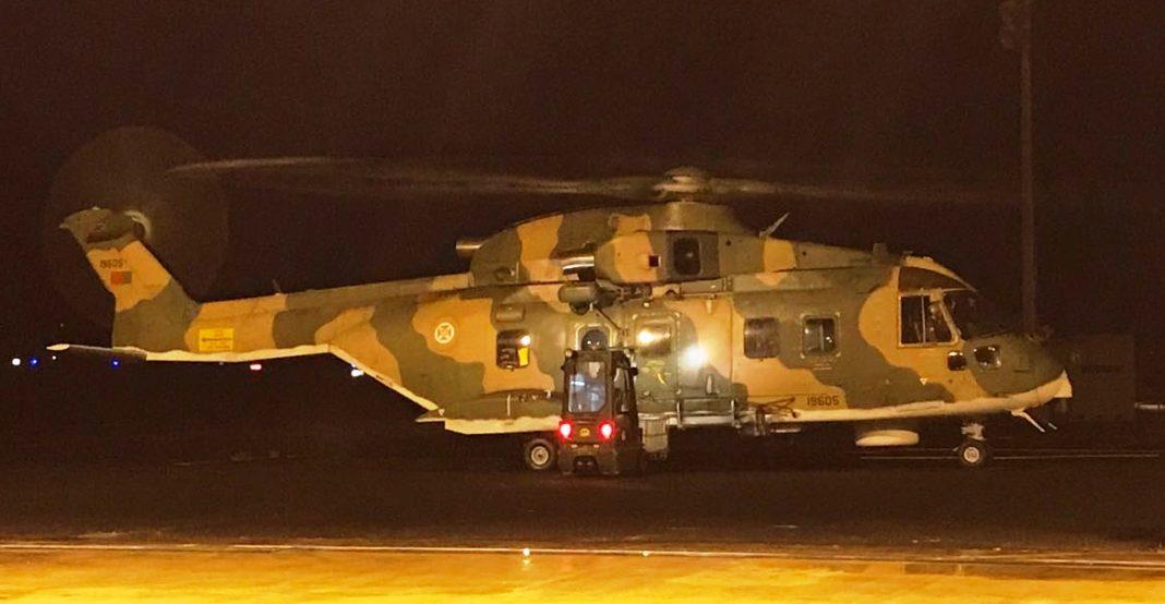 Força Aérea resgata tripulante de pesqueiro - Missão no arquipélago dos Açores