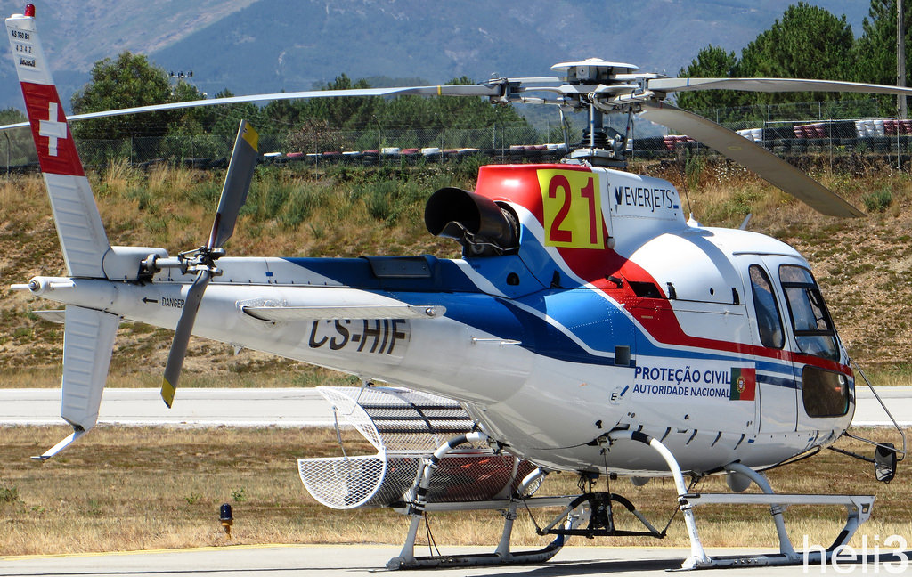 AS350 B3 Esquilo da Everjets. Imagem ilustrativa. Foto: Simon Iglesias.
