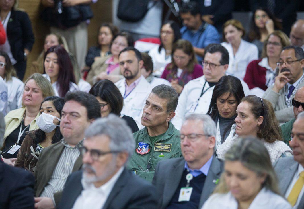 O Governador Geraldo Alckmin, participa da comemoração dos 20 anos da Central dos Transplantes do Estado de São Paulo no INCOR.DATA 12/07/2017. LOCAL: São Paulo/SP. FOTO: Diogo Moreira