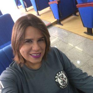 Renata integra o grupamento da Asfixia, da Polícia Civil.