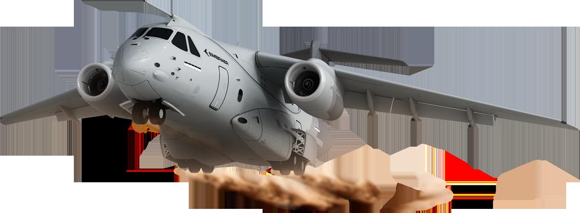 KC-390 - Embraer, aeronaves multimissão.