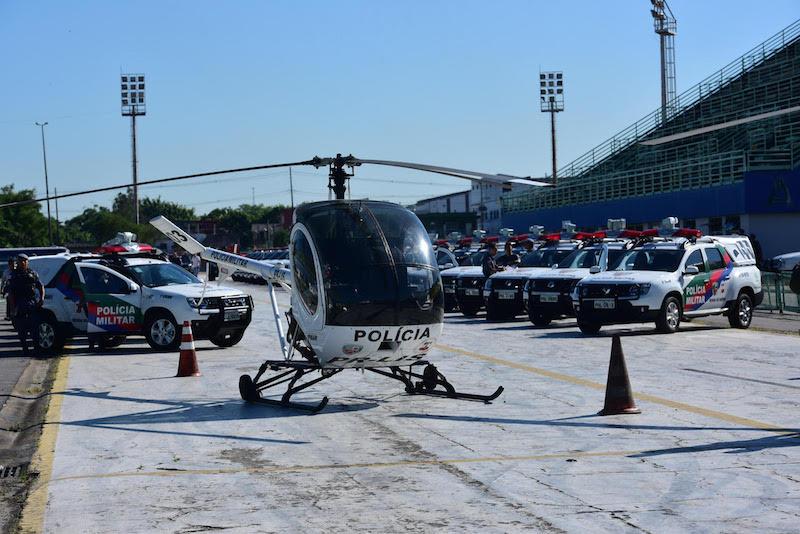 Entrega do helicóptero PR-EAM para a Segurança Pública em Manaus - Amazonas. Foto: Bruno Zanardo.