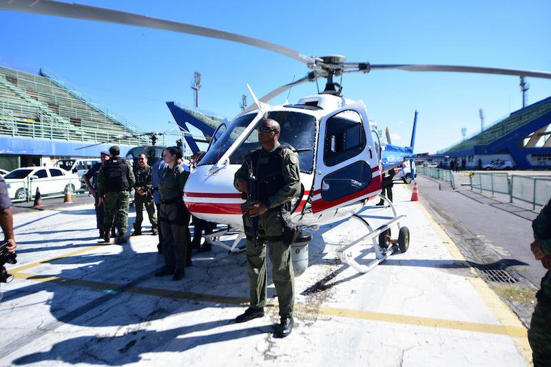 Entrega de viaturas e helicóptero para a polícia Militar - Manaus - Amazonas - 07/07/2017 - Bruno Zanardo