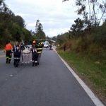 Águia 07 da PM resgata vítima de acidente de trânsito na SP-171