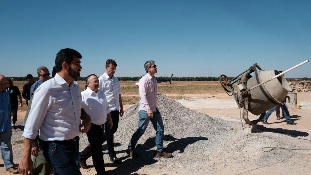 Governador de Mato Grosso inspeciona obras e elogia estrutura para Ciopaer em Sorriso