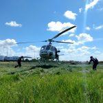 Grupamento Tático Aéreo de Sergipe capacita médicos e enfermeiros do SAMU em ocorrências aeromédicas. Foto: Ricardo Pinho.