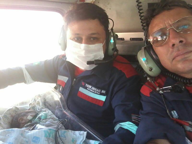 CTA do Maranhão faz transporte aeromédico de bebê recém-nascido do HG de Alto Alegre do Maranhão