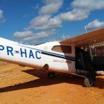 Avião Cessna 210L do COMAVE operado pela Polícia Militar de Minas Gerais.