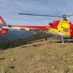 Arcanjo 02 realiza salvamento de vítima que praticava trekking na Serra de Passa Quatro. Pedra de Mina. Foto: Divulgação.