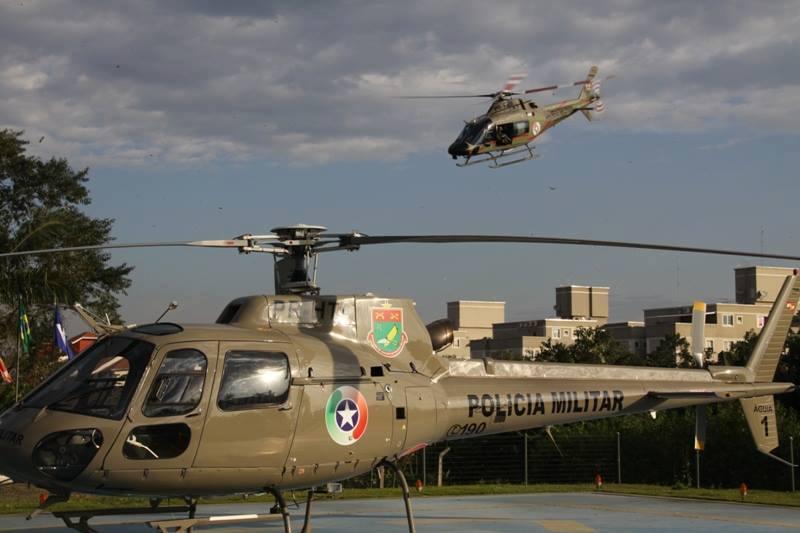 Batalhão de Aviação da PM de Santa Catarina tem novo comandante de aeronave